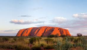 Australian weather conditions at Ayers Rock can change rapidly