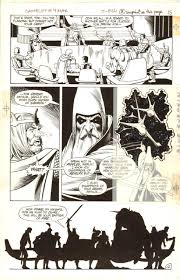 camelot 3000 4 page 1983 brian bolland king arthur merlin and the knights of the round table