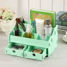 makeup organizer wood. diy makeup diy organizer : colors wooden desk cosmetic wood jewelry storage