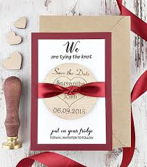 Wedding Announcement Photo Cards Customize Engraved Rustic Wedding Announcement Invitation Cards With