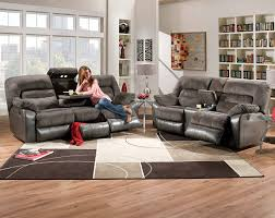 simmons lucky espresso reclining console loveseat. simmons tonto seal power reclining sofa and loveseat lucky espresso console b