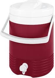 Изотермический контейнер (термобокс) 7 л., красный