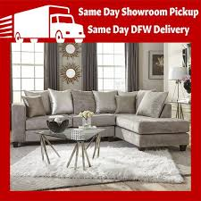 hollywood glam silver sectional sofa