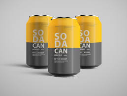 Drink Can Designs 21 Best Realistic Soda Can Mockup Designs 2019 Colorlib