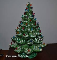 Atlantic Mold Ceramic Christmas Tree Lights Amazon Com Vintage Ceramic Flocked Christmas Tree With