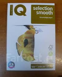 <b>Бумага IQ</b> Selection smooth A4 160г/м2 250л - <b>Канцелярия</b> в ...