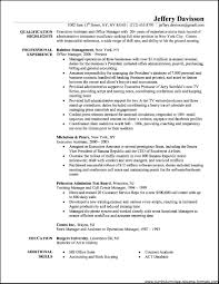 Officeator Resume Summary Medical Sample For With No Experience