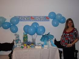 Gender Reveal Baby Shower Ideas Blue And Pink  Baby Shower Ideas Baby Shower Party Table Decorations