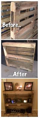 entry and Pallet project, pallet wood, rustic shoe rack.