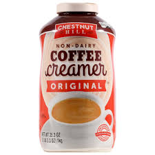 Definitely not all coffee creamers are on the same level in terms of ingredient quality. Chestnut Hill Non Dairy Coffee Creamer 35 3 Oz Family Dollar