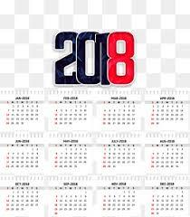 Calendar Template Png 2018 Desk Calendar Png Images Vectors And Psd Files Free