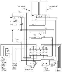 single phase compressor wiring diagram wiring diagram and hernes how to wire 5hp air pressor single phase 220v motor reset