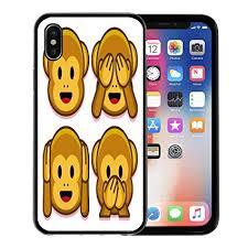 Amazon Com Emvency Phone Case For Apple Iphone Xs Case Wise Emoji