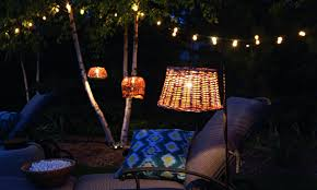 Light Garden Academy Re Use Old Basket Lights And Create This Cozy Outdoor