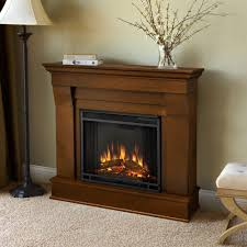 electric fireplace in espresso