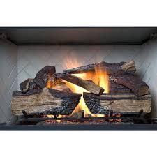 emberglow country split oak 24 in vented natural gas fireplace with vented natural gas fireplace