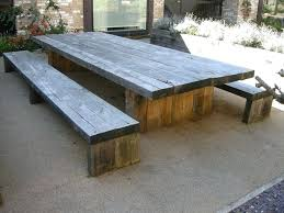 how to build a wooden picnic table garden and patio large and long rustic solid wood how to build a wooden picnic table