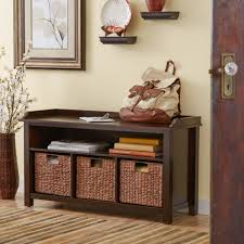 ... Storage Ideas, Appealing Storage Entryway Bench Diy Entryway Bench  Benches Decor Theme With Wooden Varnishing ...