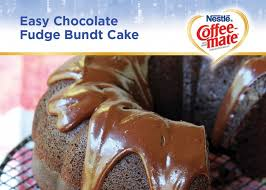 coffee mate easy chocolate bundt cake recipe
