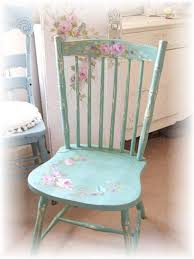 shabby chic style furniture. shabby chic chair diy paint and decoupage yes iu0027m going to make these for my kitchen chairs find some at garage sales them stencil style furniture