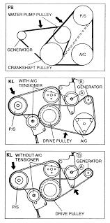 Drive belt incredible mazda 6 serpentine diagram