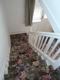 patterned stair carpet. Beautiful Patterned Carpet Runner For Stairs With Flowers Pattern Design Stair O
