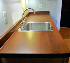 paper bag countertops kitchen sink after closeup paper bag kitchen countertops paper bag countertops