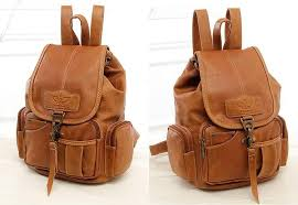 fashion vintage leather backpack women drawstring rucksack for teenage girls school bags famous designer quality mochila xa658h
