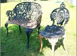 Lovely Cast Iron Outdoor Furniture Or Project Ideas Vintage
