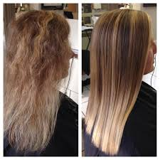 photo of brecyn salon everett wa united states before and after of