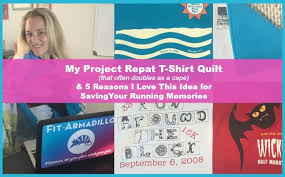 Project Repat T-Shirt Quilts for Your Running Memories - Fit Armadillo & project repat quilt running shirt quilt Adamdwight.com