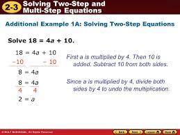 lesson 2 3 practice b solving two step and multistep equations