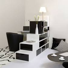 white room with black furniture. White Room With Black Furniture Photo - 1 O