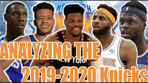 In Depth Analysis Of The 2019 2020 Knicks Roster Best Bench In The Nba Updated Depth Chart