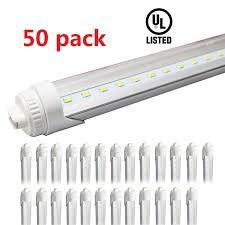 T12 Led Tube Light 50 Pack 40w 8ft T12 Led Tube Light Replacement For F96t12 Ho