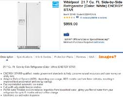 refrigerator in lowes. lowes.com product page - no additional images refrigerator in lowes r