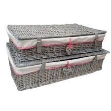 ... Underbed Storage Basket With Wheels Default Name Wicker Under Bed  Regarding Wicker Under Bed Storage Ikea ...
