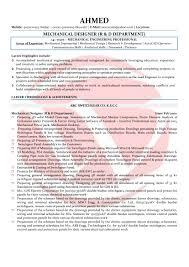 mechanical sample resume mechanical designer sample resumes download resume format