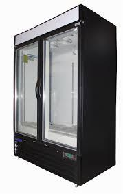 central refrigeration double glass door merchandiser freezer larger photo