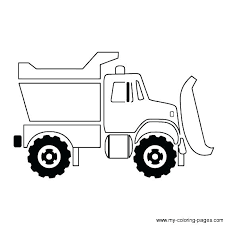 Dump Truck Coloring Page Trash Truck Ng Pages Dump Truck Page