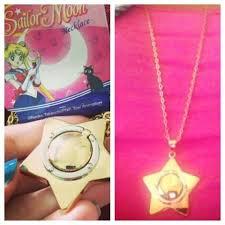 kawaii sailor moon star locket