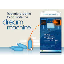 Reverse Vending Machine Recycling Impressive PepsiCo Unveils Reversevending 'Dream Machine' To Encourage