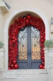 Front Door Decorating 30 Christmas Door Decorating Ideas Best Decorations For Your