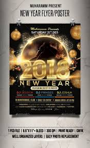 New Year Flyer Template Free Outstanding Free New Years Eve Flyer ...