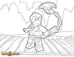 LEGO Ninjago Kai Motorcycle Coloring Pages (Page 1) - Line.17QQ.com