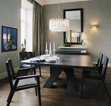 Modern Dining Room Sets Amusing Black Dining Table Sets Awesome - Modern dining room curtains