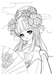 ミツキmaウス On Twitter お姫様ぬりえ お姫様 和服 着物