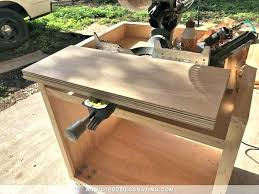 build a rolling cart how to build a rolling miter saw cart with expandable wings cut