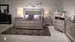 Samuel Lawrence Diva Bedroom Group with Upholstered Headboad & Bling | Home Gallery Stores
