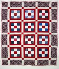 """Quilt Inspiration: Free pattern day: Patriotic and flag quilts & Fourth of July quilt, 60 x 72"""", free pattern by Bonnie Hunter at Quiltville Adamdwight.com"""